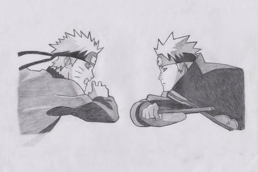 Naruto vs yahiko