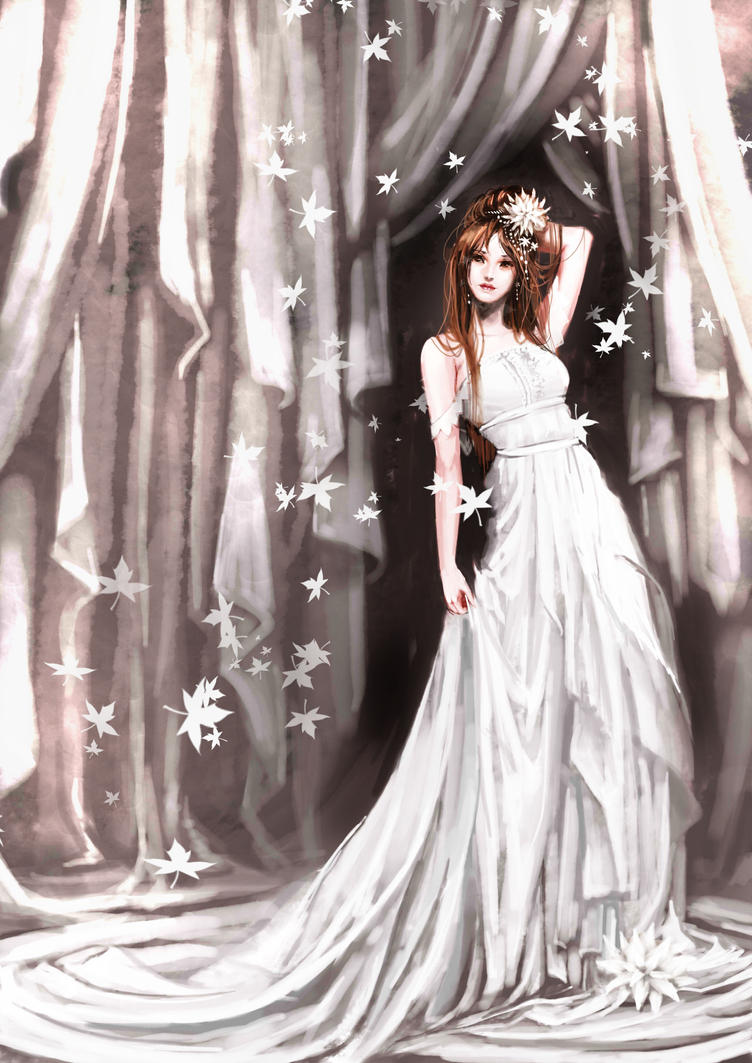 WhiteDress by genki-de