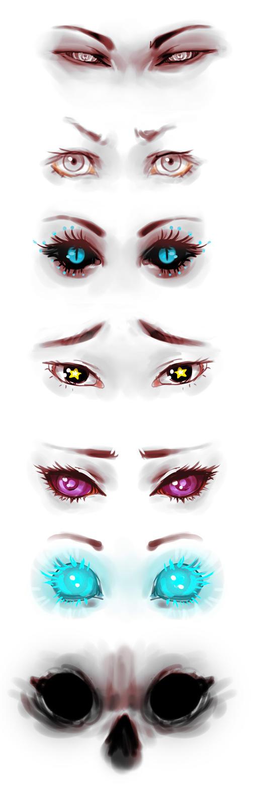 oc eyes reference by genki-de