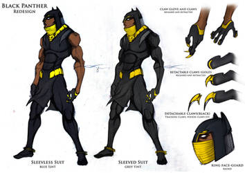 Black panther Redesign page 2 by kaseddy