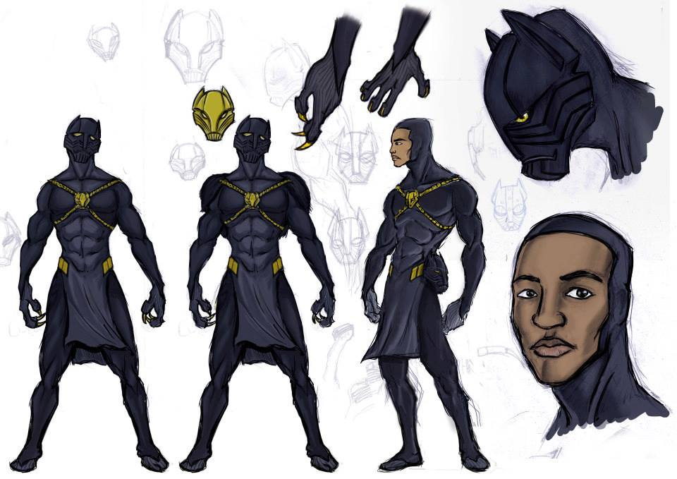 Black Panther New Design By Kaseddy On DeviantArt