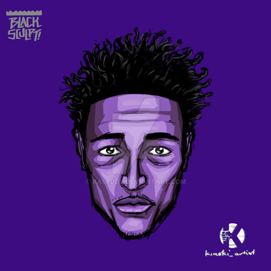 Purple Head by kaseddy