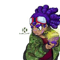 Goggle Girl 2.0 by kaseddy