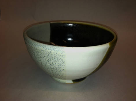 tri colored bowl