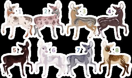 Adoptbatch: Deer [2/8 OPEN]