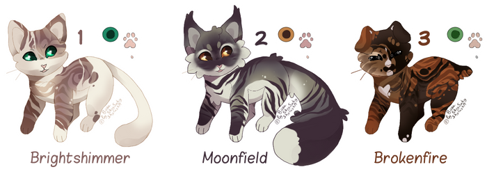 Adopts: Cats [ 1/3 OPEN]