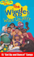 The Wiggles: Wake Up Jeff! Disney VHS cover (2000)