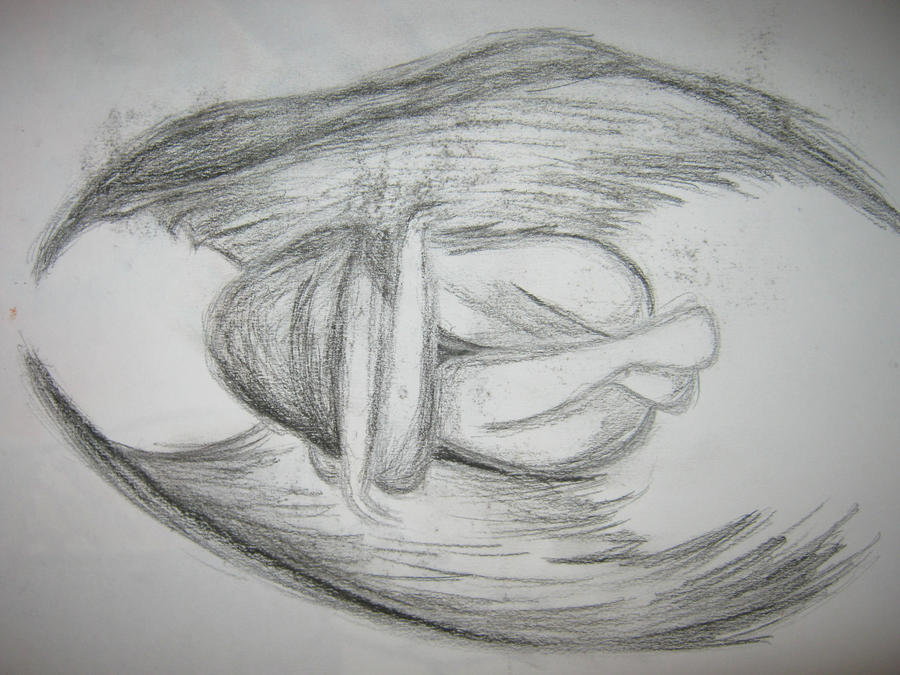 depressed angel drawings - photo #24