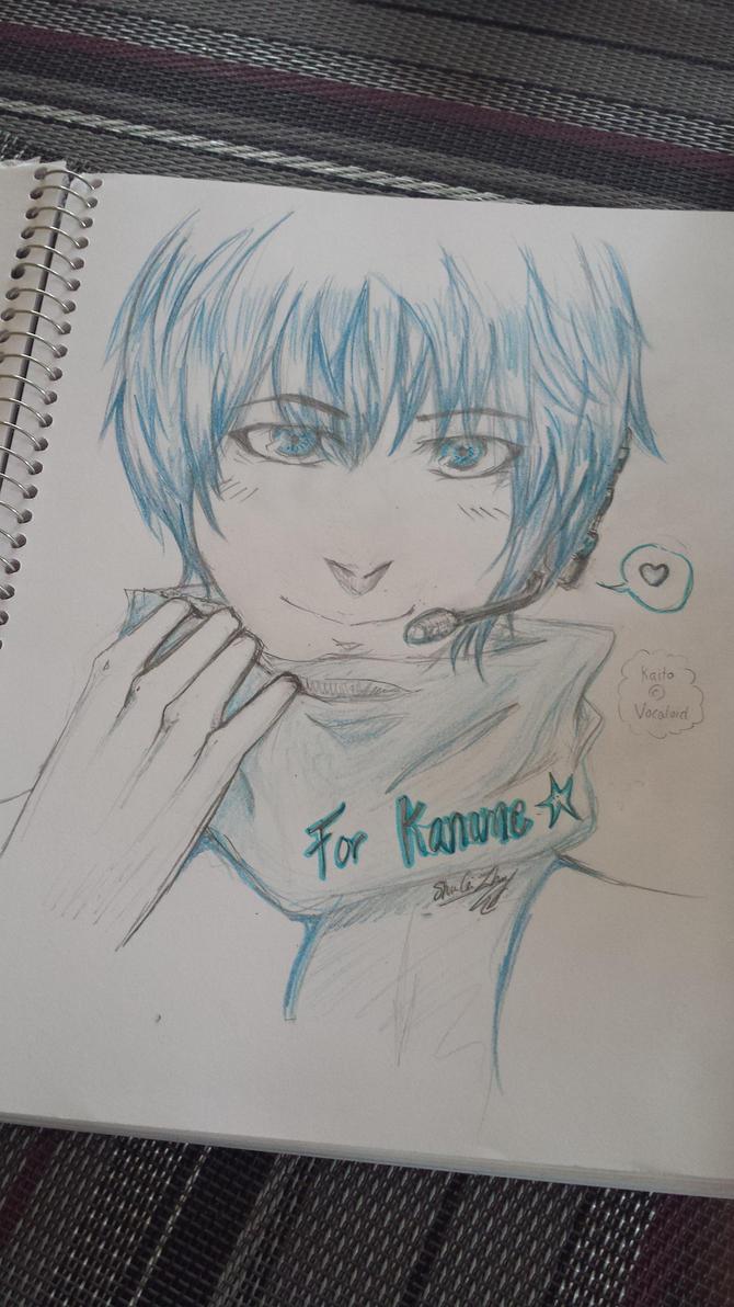 Kaito [Vocaloid] _ Gift for Kaname-sama by Shujun