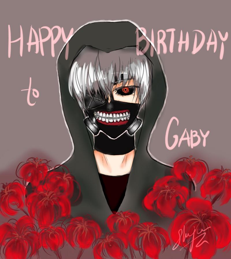 Kaneki [TG] Happy Birthday my friend! by Shujun