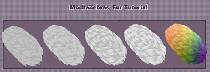 Small Fur Tutorial by MochaZebra