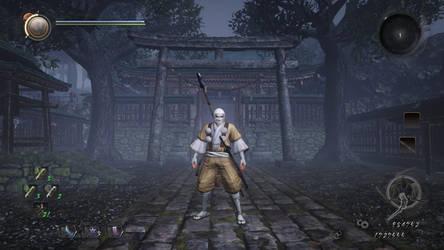 nioh yamabushi ninja monk by lann10