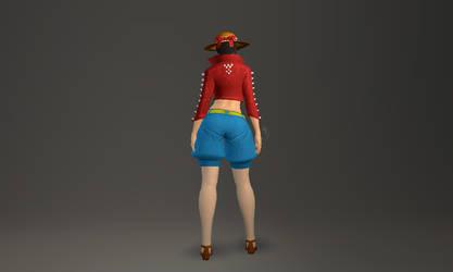 vindictus cosplay one piece luffy