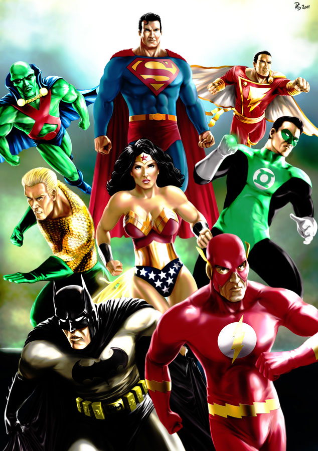 JLA by Robert-Shane