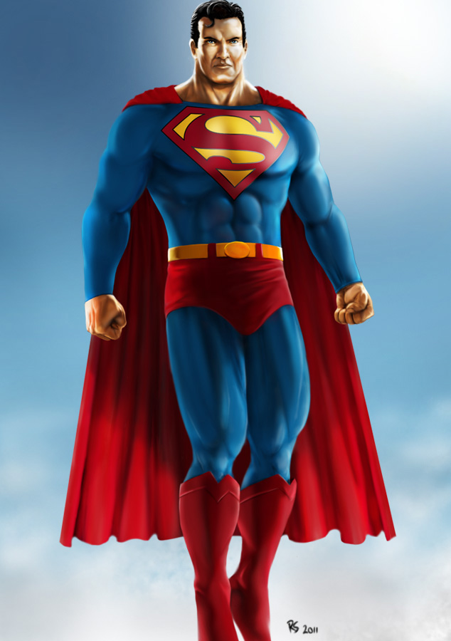 Superman - Flying High by Robert-Shane