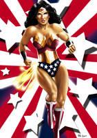 Wonder Woman by Robert-Shane
