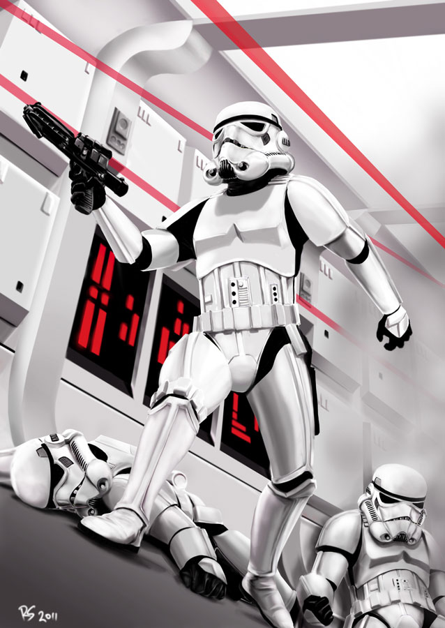 Stormtrooper by Robert-Shane