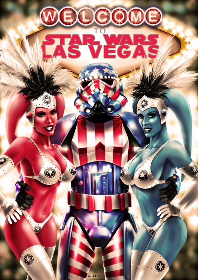 Star Wars Las Vegas by Robert-Shane
