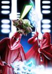 Yoda vs Imperial Guards