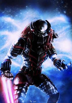 Star Wars - Sith Predator (with helmet)