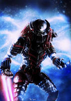 Star Wars - Sith Predator (with helmet) by Robert-Shane