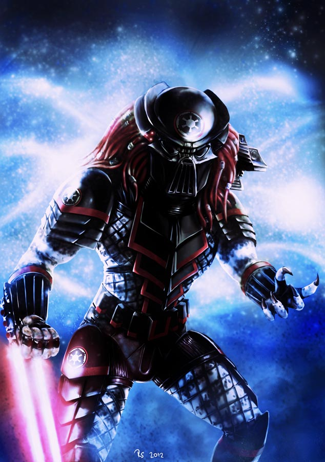 Sith Predator (with helmet)