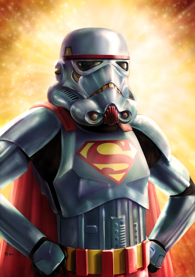 Star Wars - Super Trooper by Robert-Shane