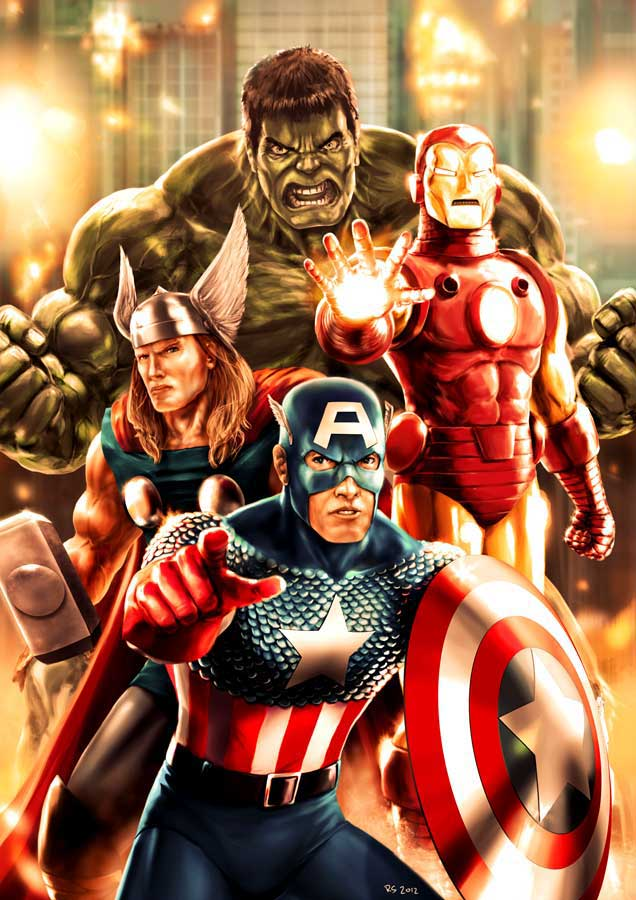 The Avengers by Robert-Shane