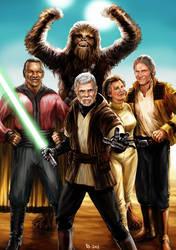 Star Wars 7 - We're Back by Robert-Shane