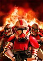 Star Wars Shock Troopers by Robert-Shane