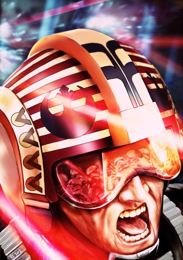 Star Wars - X-Wing Pilot Commander Garven Kings by Robert-Shane