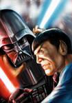 Star Wars meets Star Trek - Vader vs Spock