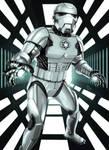 Star Wars meets Marvel - Iron Trooper