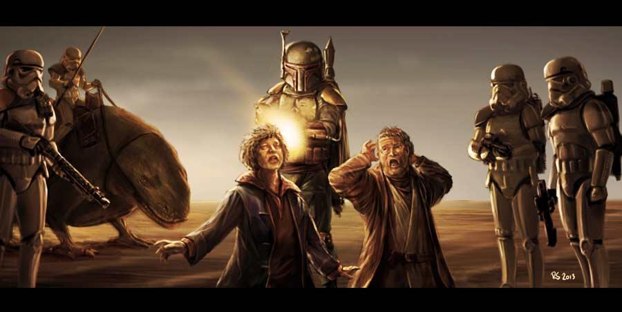 Star Wars Unseen Scenes -Episode 4 by Robert-Shane