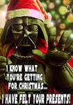 Merry Christmas from Darth Vader