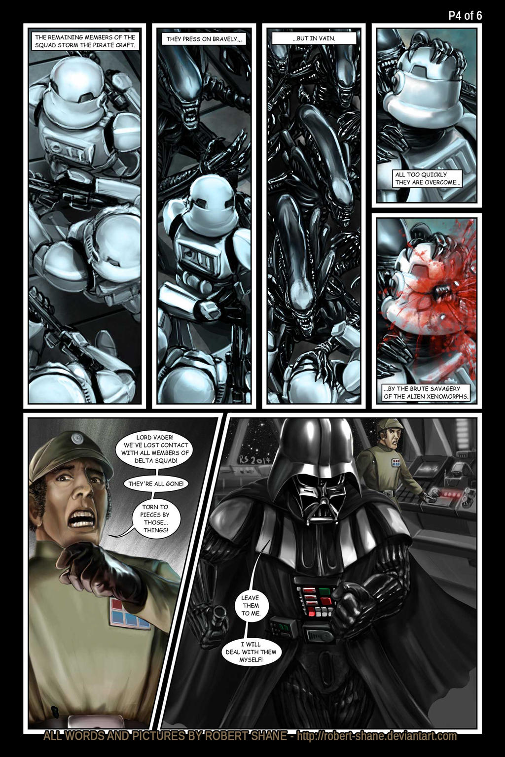 Star Wars vs Aliens by Robert Shane Page 4