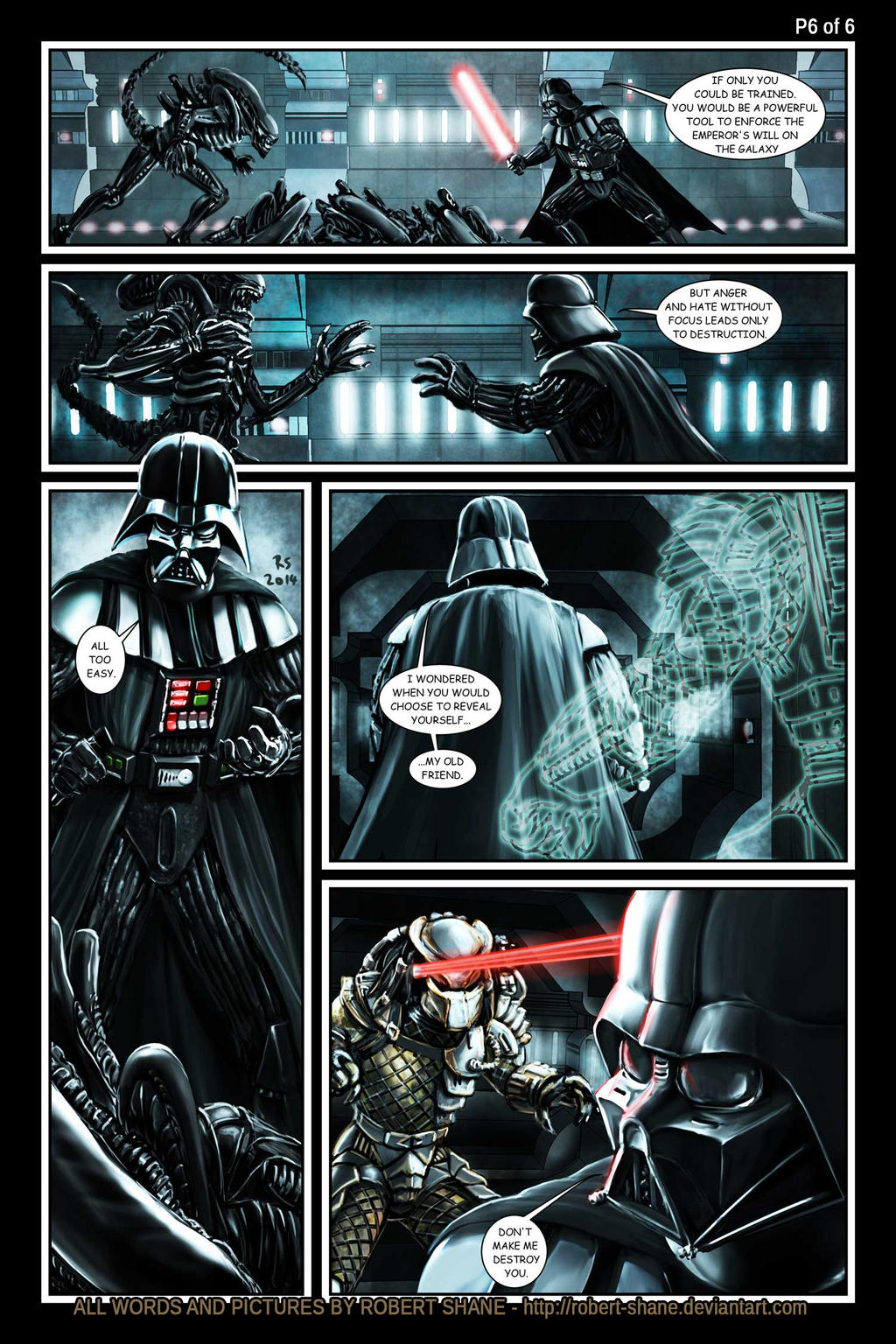 Star Wars vs Aliens by Robert Shane Page 6