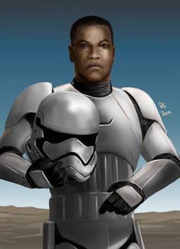 Star Wars The Force Awakens - Stormtrooper by Robert-Shane