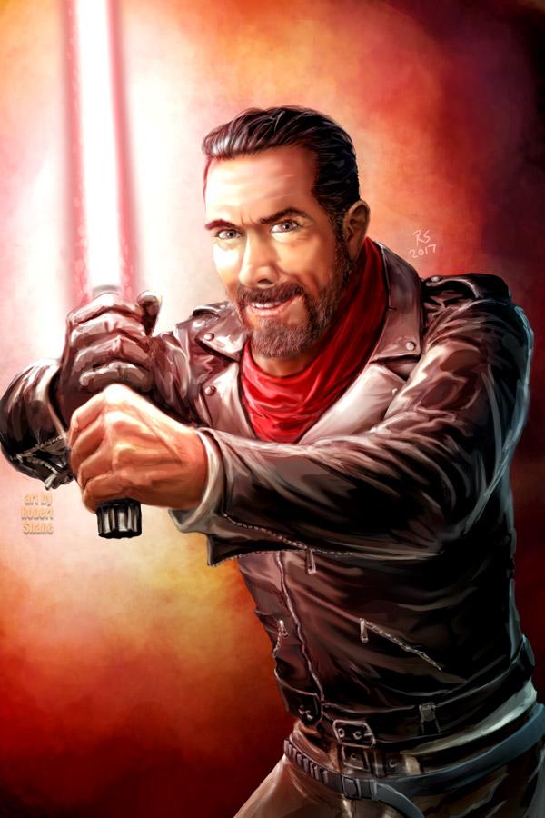 Negan's New Toy by Robert-Shane