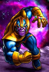 Marvel's Thanos by Robert-Shane