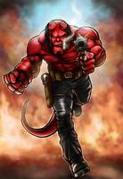 Hellboy by Robert-Shane