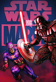 Captain America vs Darth Vader
