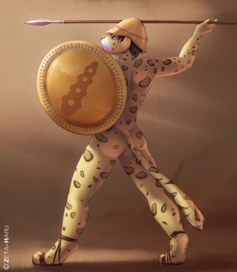 Greek Warrior by Zeta-Haru