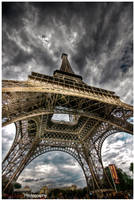 Paris - Eiffel Tower IX by superjuju29