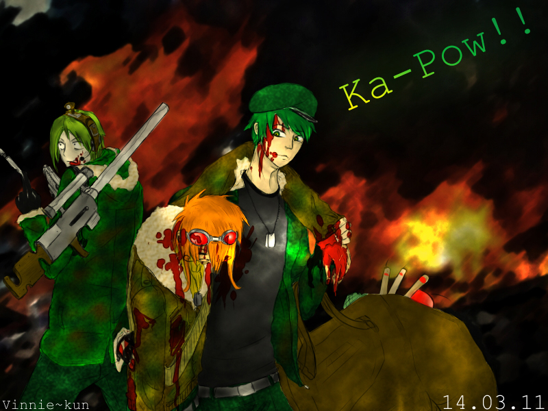 Ka-Pow by Vinnie-Mashi-Bado