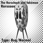 Rorscoon - The Rorschach pod fakemon
