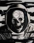 DEAD IN SPACE (inktober 2020 day 2)