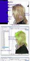 MMD Tutorial:  How to make transparen hair
