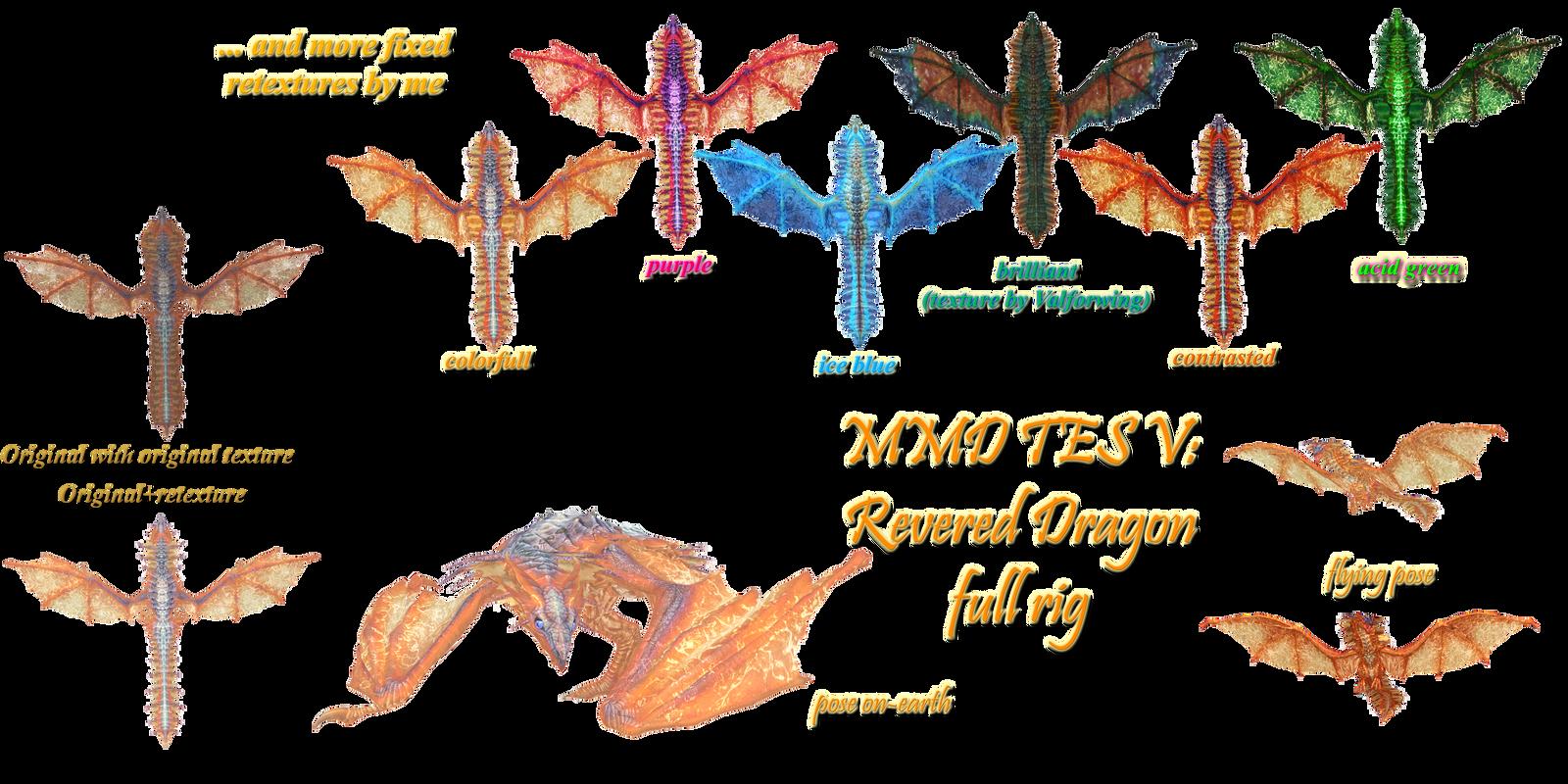 MMD TES V: Revered dragon download by Tokami-Fuko on DeviantArt