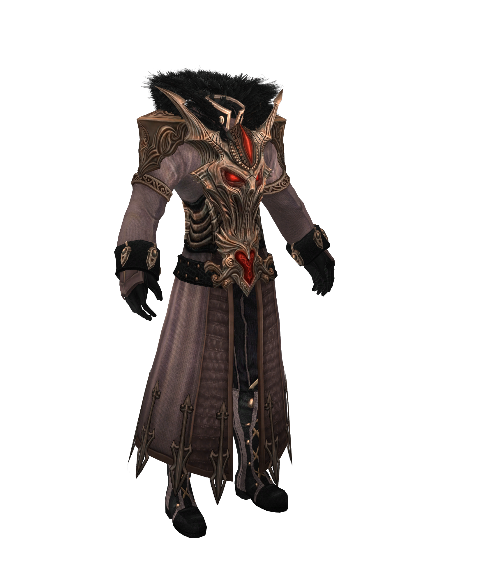 XPS TES V mods: TERA's Darkmage robe by Tokami-Fuko on